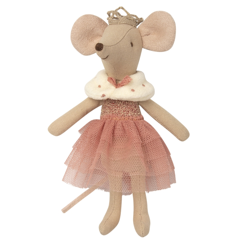 Prinzessin Maus rosa/beige 13cm (Micro)