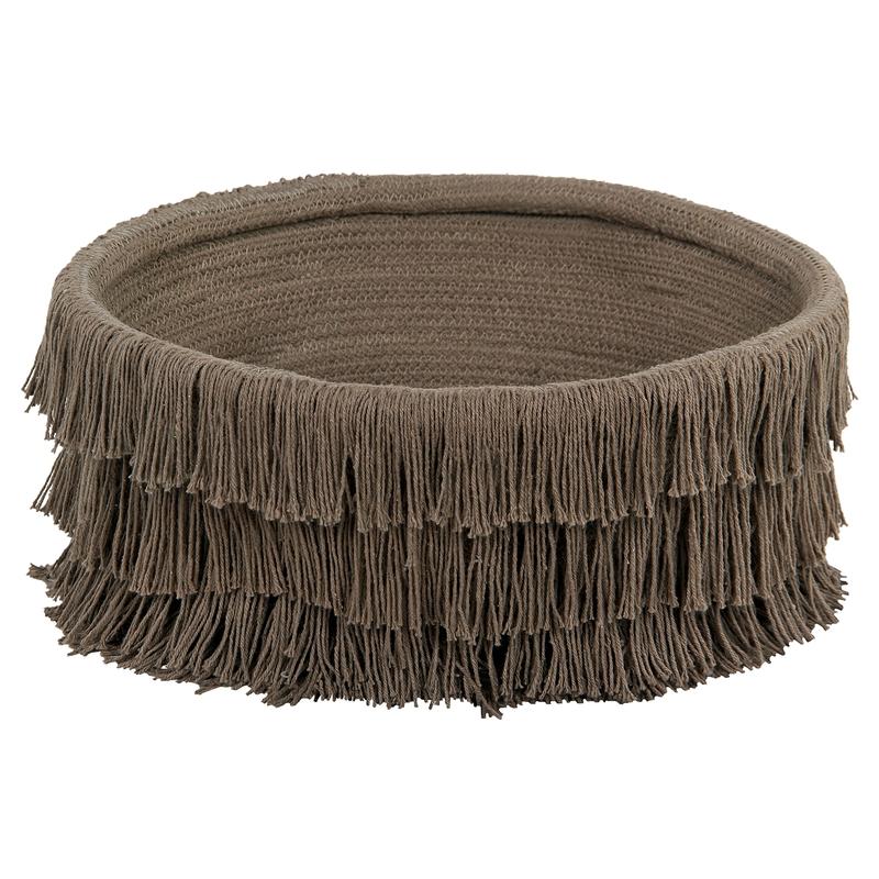 Aufbewahrungskorb 'Pio Nest' braun 40cm