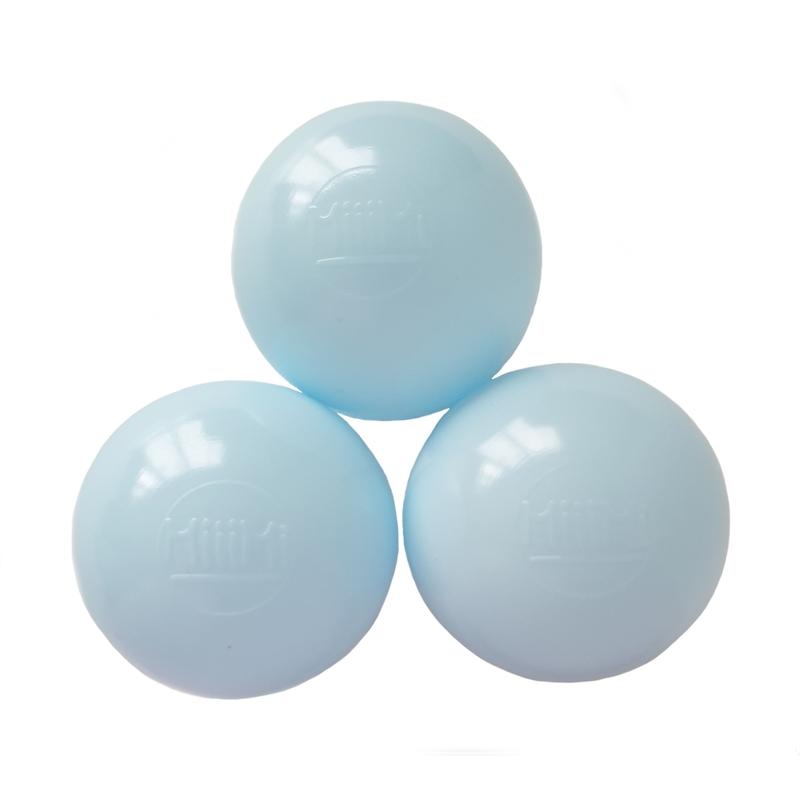 Zusatzbälle für Bällebad hellblau 50 Stück