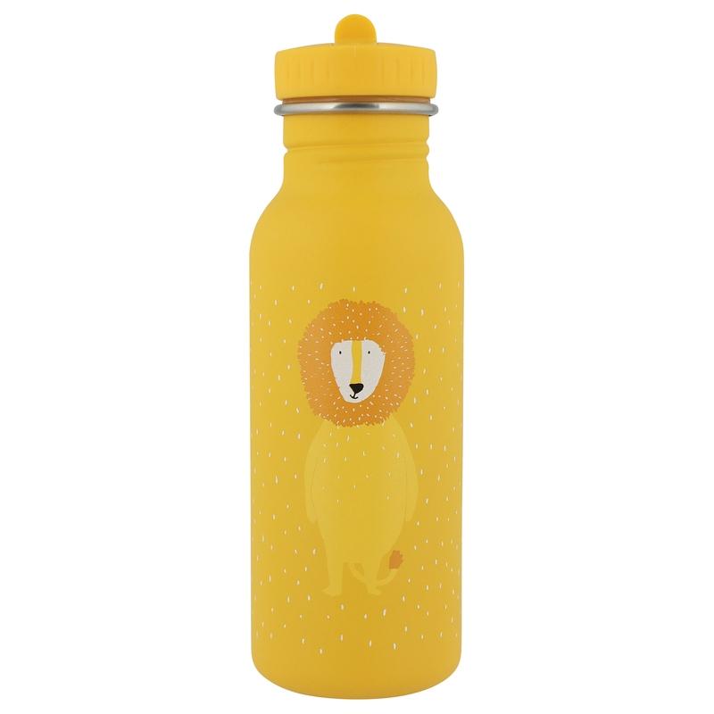 Trinkflasche 'Löwe' Edelstahl senfgelb 500ml