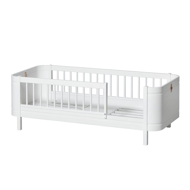 Juniorbett 'Mini+' weiß 68x162cm mitwachsend
