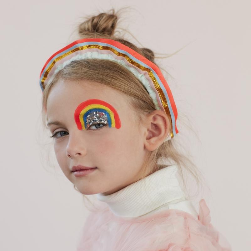 Haarreifen 'Regenbogen' ab 3 Jahren