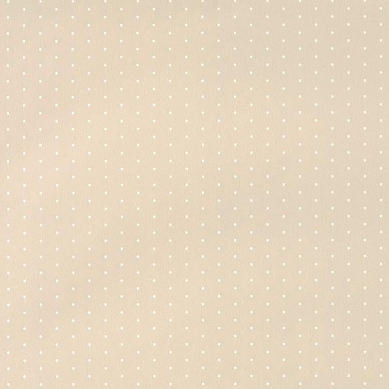 Tapete 'My Little World' Punkte beige