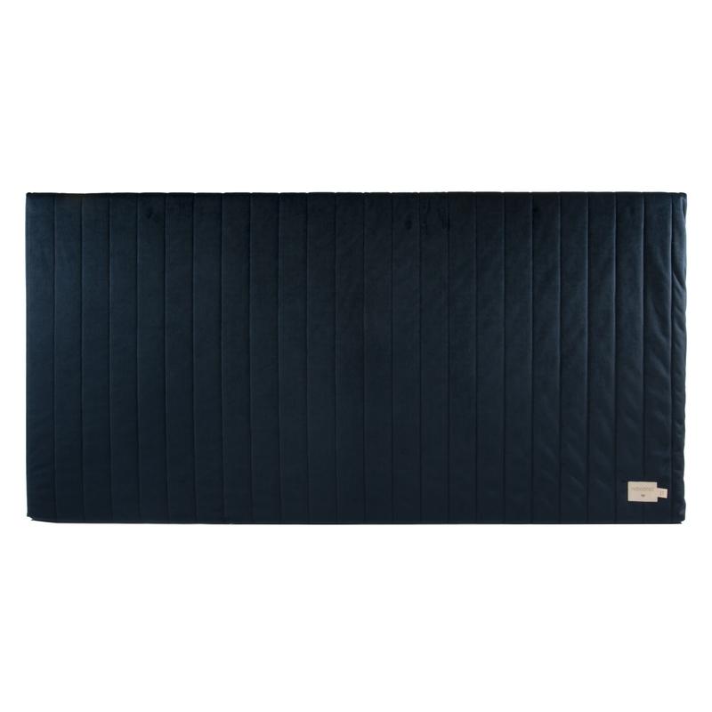 Spielmatratze aus Samt dunkelblau 60x120cm