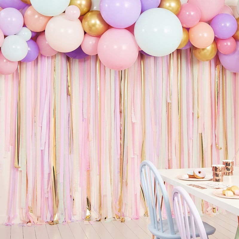 Fotobuch-Hintergrund Ballons pastell