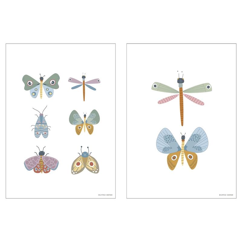 Wendeposter 'Schmetterlinge' 30x40cm
