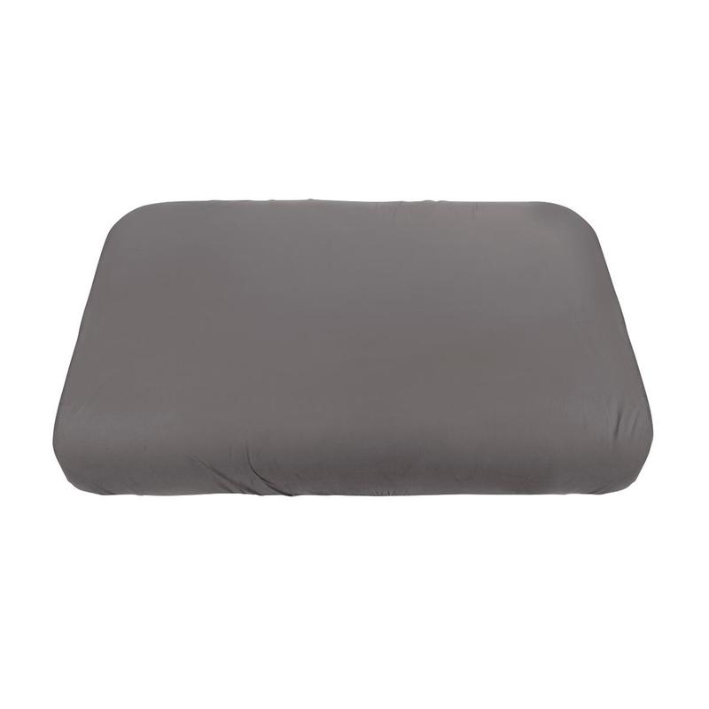 Bettlaken für Sebra Bett Jersey grau 70x120cm