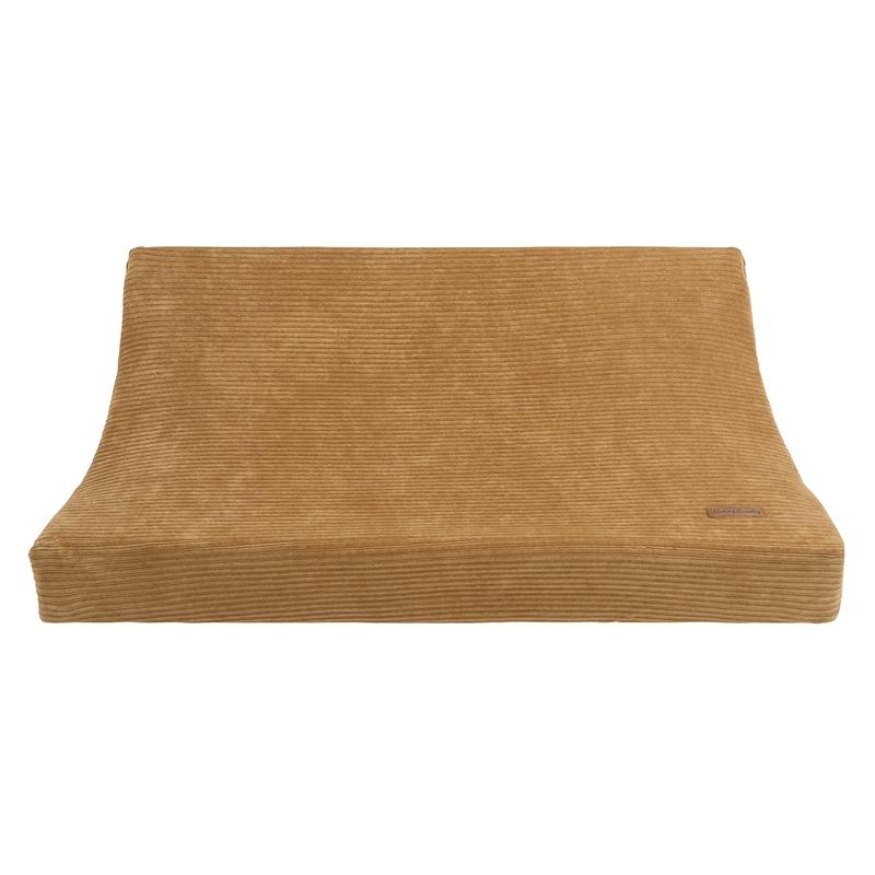 Wickelauflagenbezug 'Sense' Samt karamell 45x70cm