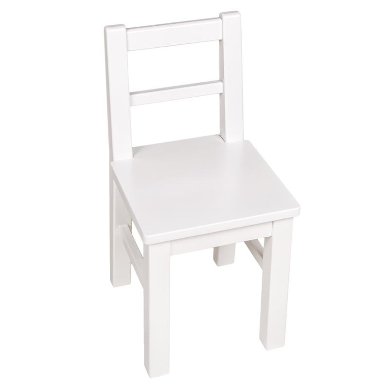 Kinderstuhl Birke weiß handmade