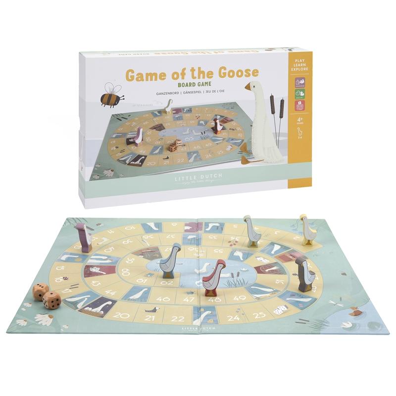 Spiel mit Würfeln 'Spiel der Gans' ab 4 Jahren