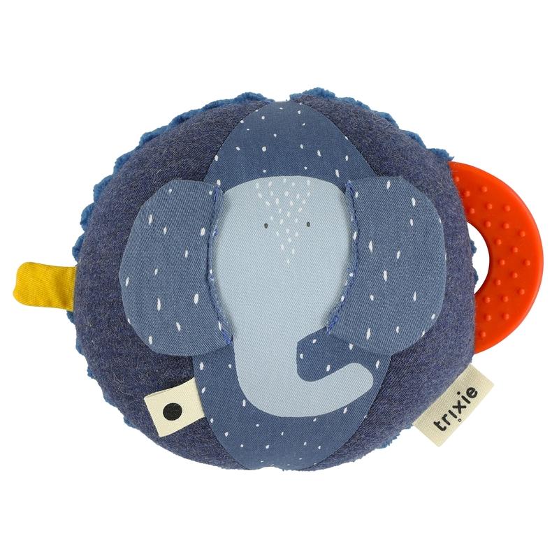Babyball 'Elefant' Baumwolle blau 20cm