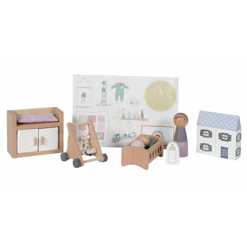 Puppenhausmöbel 'Babyzimmer' ab 3 Jahren