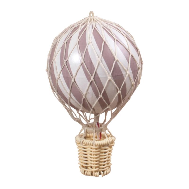 Heißluftballon altrosa ca. 10cm handmade