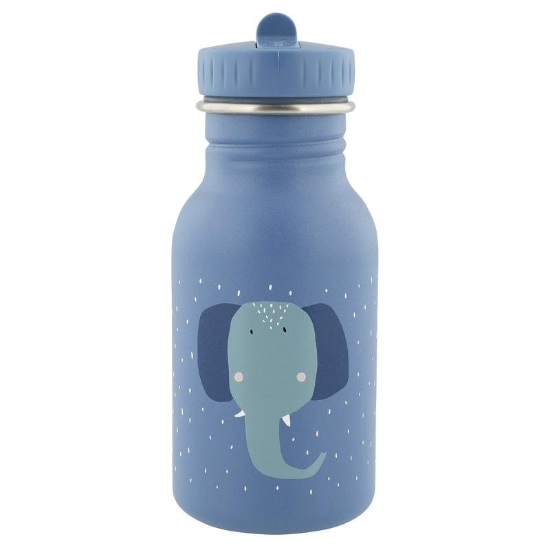 Trinkflasche 'Elefant' Edelstahl blau 350ml