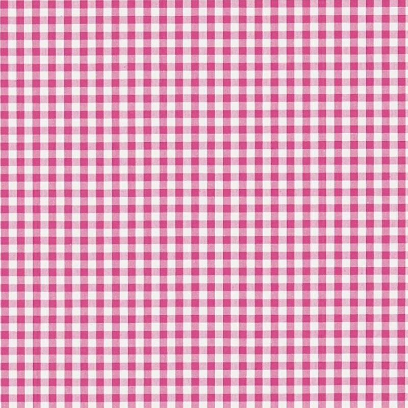 Kinderzimmer Stoff 'Vichykaro' pink