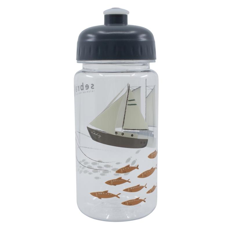 Trinkflasche 'Seven Seas' transparent 500ml