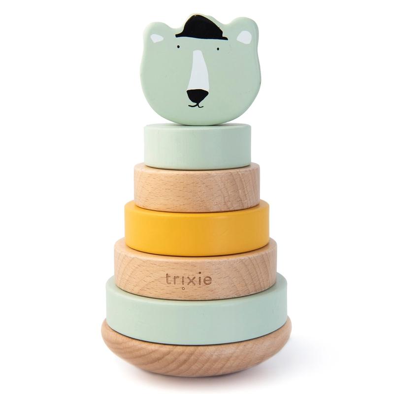 Stapelturm 'Eisbär' Holz mint ab 1 Jahr