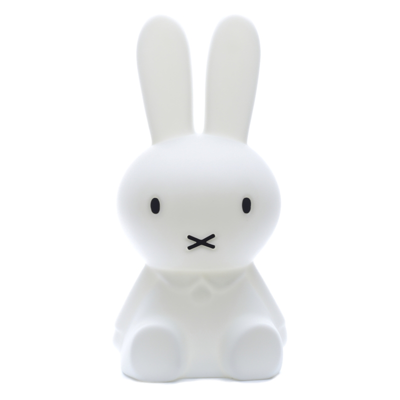Lampe 'Miffy Hase' LED weiß ca. 50cm