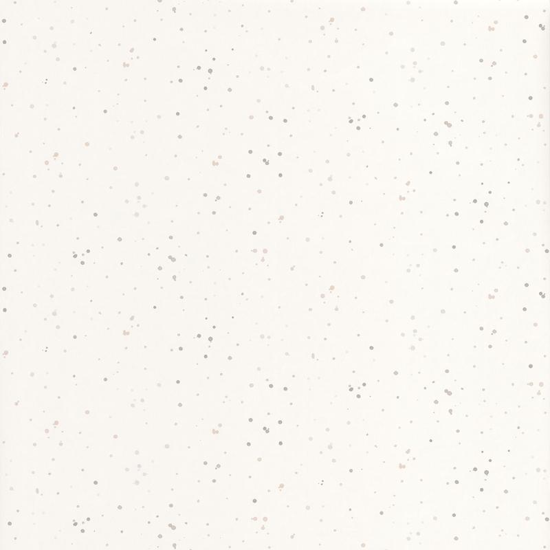 Tapete 'Happy Dreams' Farbkleckse weiß/grau