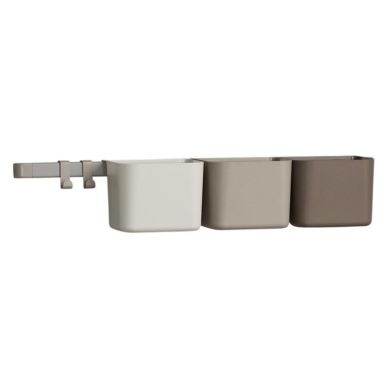 Wand-Organizer braun/beige 62cm