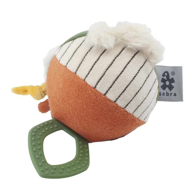 Activity-Spielball 'Wildlife' rost/grün 12cm