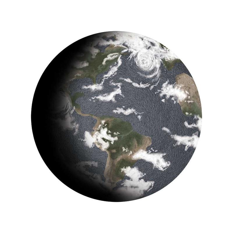 Wandsticker 'Erde' handgezeichnet