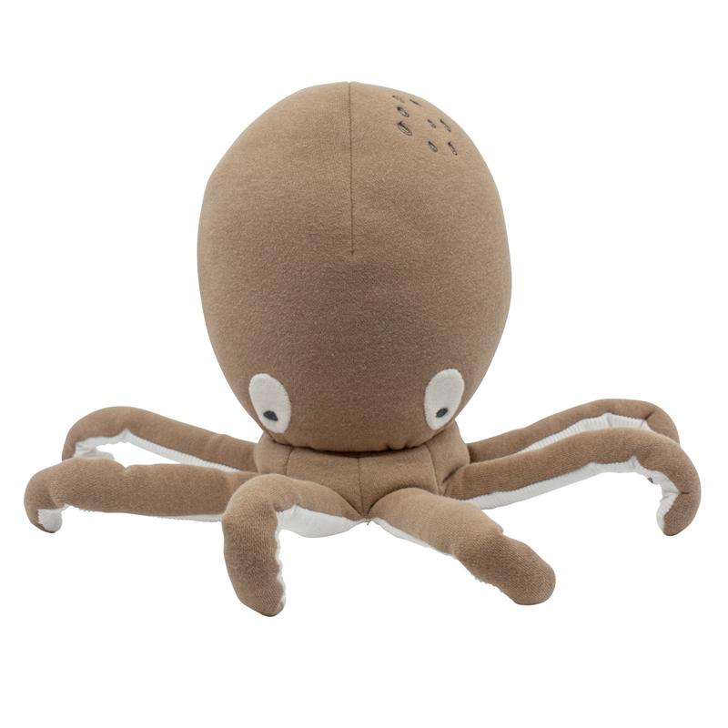 Kuscheltier 'Oktopus' rusty brown 38cm