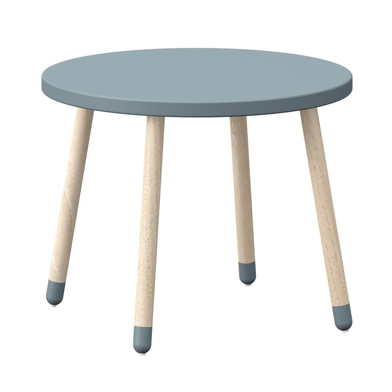 Play Tisch taubenblau MDF/Esche massiv 60cm