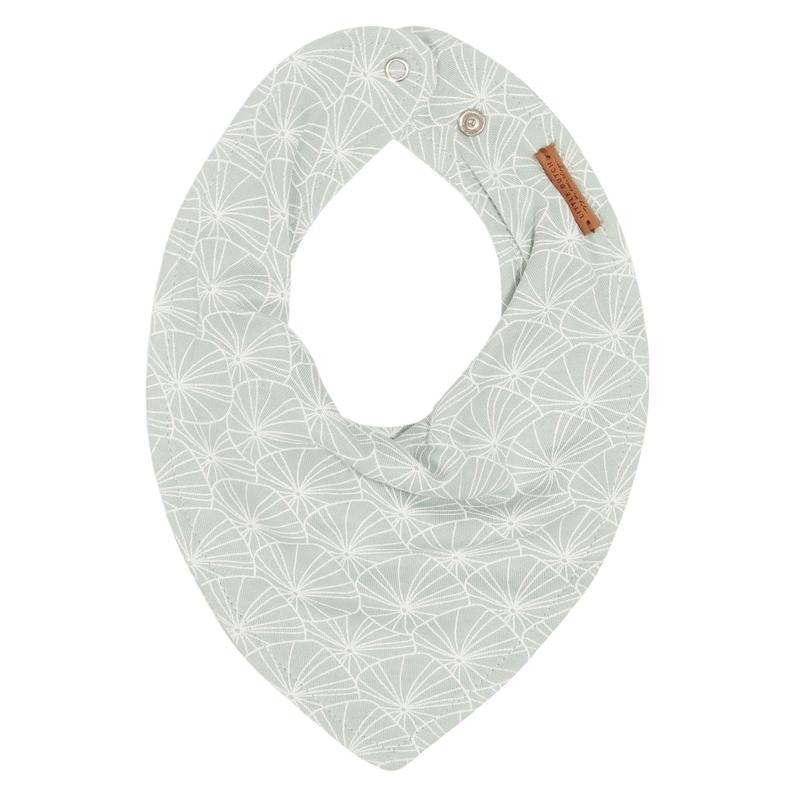 Halstuch/Dreieckstuch 'Lily Leaves' Jersey mint