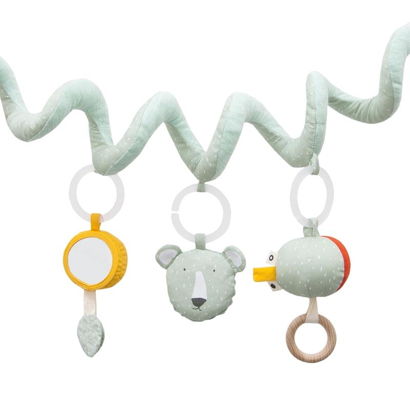 Spielkette 'Eisbär' Baumwolle mint
