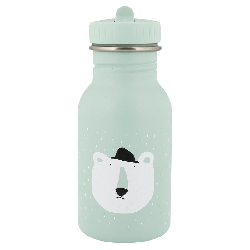 Trinkflasche 'Eisbär' Edelstahl mint 350ml