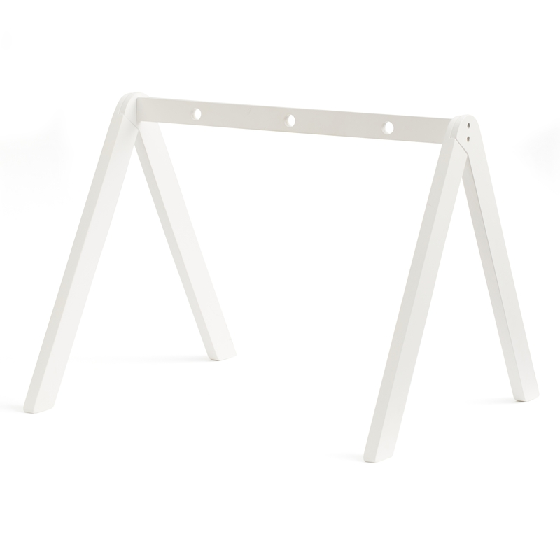 Spielbogen aus Naturholz weiß 60cm