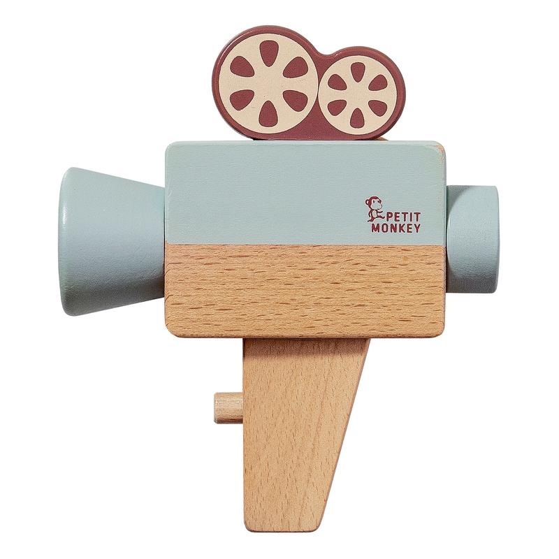 Videokamera Naturholz mint ab 3 Jahren