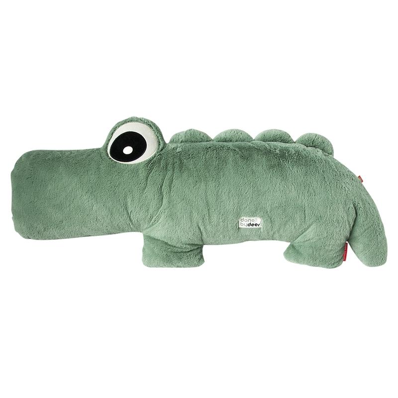 XL Kuscheltier Krokodil 'Croco' grün 100cm