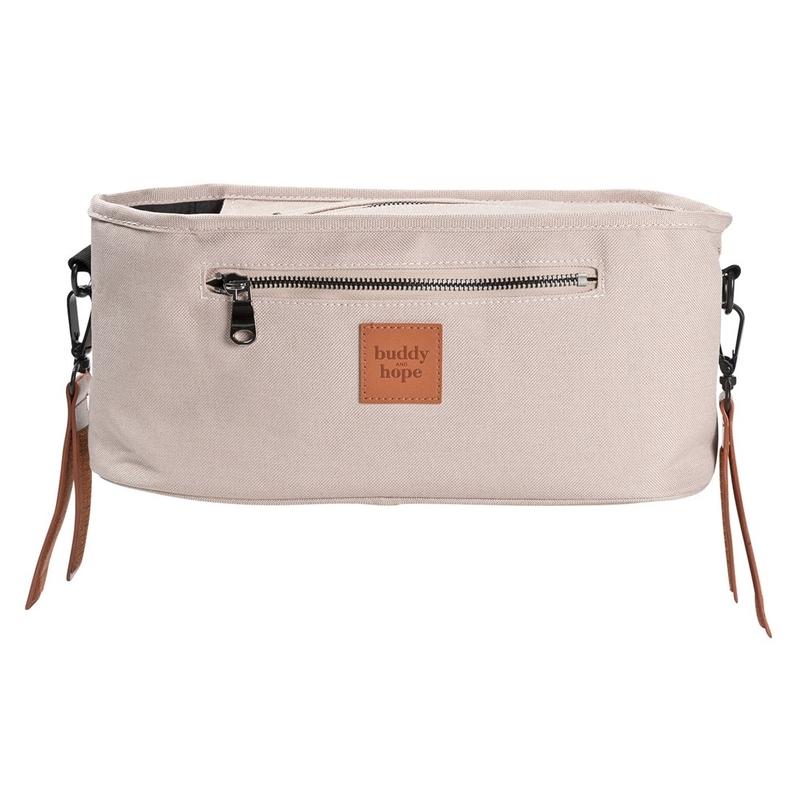 Tasche für den Kinderwagen-Griff altrosa