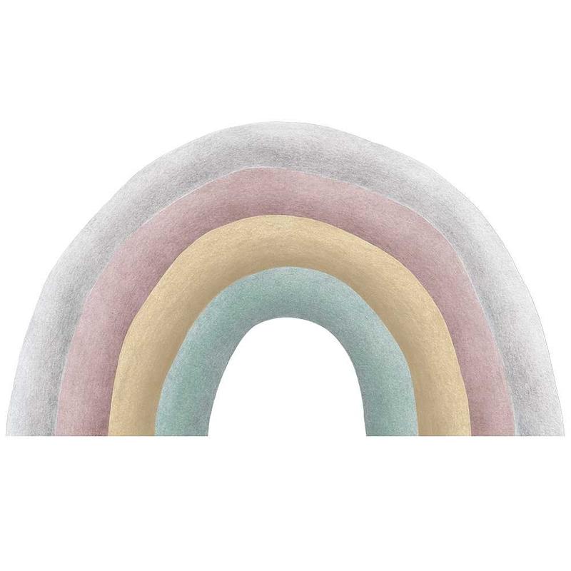 Wandsticker 'Regenbogen' pastell handgezeichnet