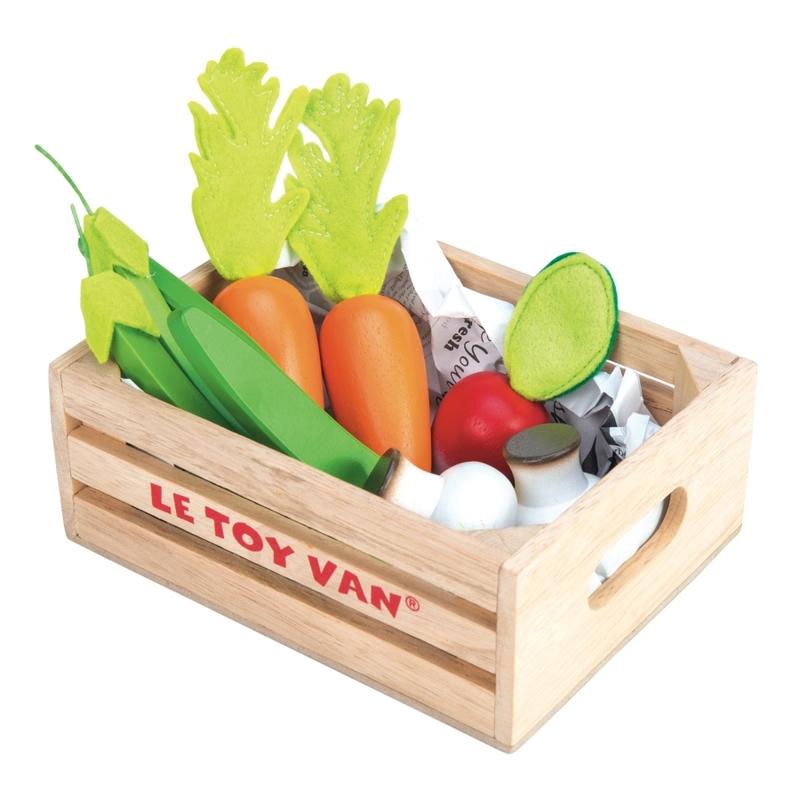 Marktkiste aus Holz 'Gemüse' ab 3 Jahren