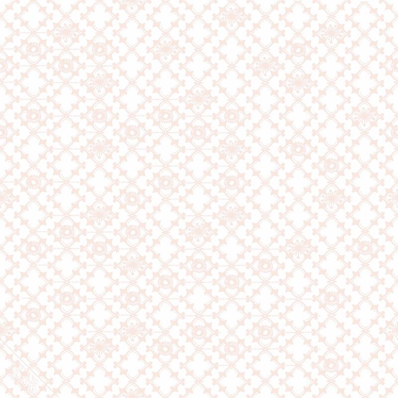 Vliestapete 'Ornamente' weiß/puder