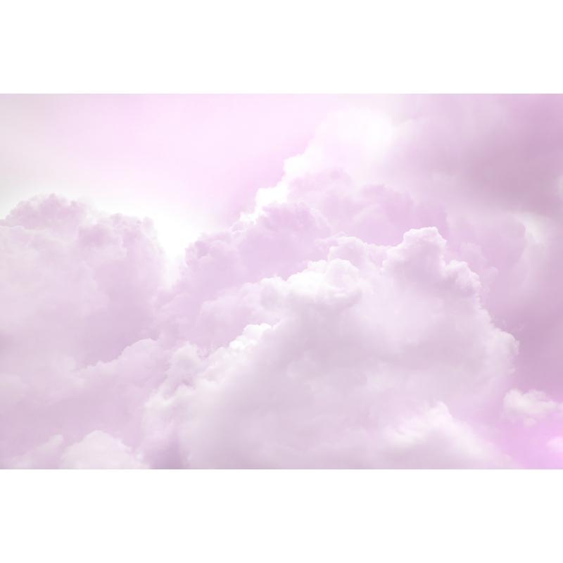 Fototapete 'Wolken' rosa 405x270cm