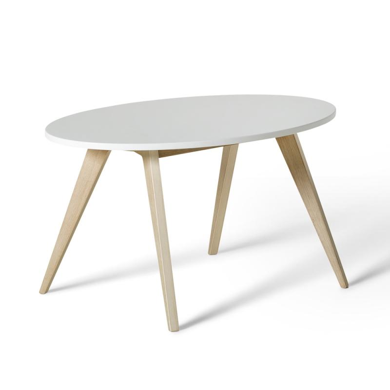 Kindertisch 'Wood Ping Pong' Eiche/weiß