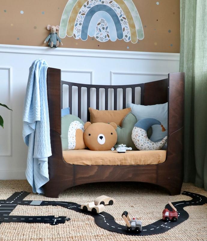 Juniorzimmer mit Regenbogen Wandsticker