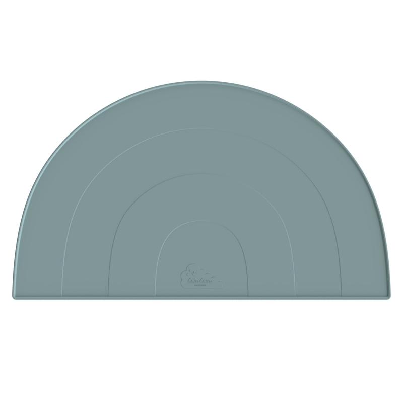 Tischset 'Regenbogen' Silikon blau 45cm