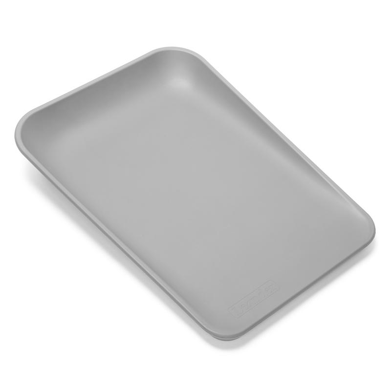 Wickelauflage 'Matty' dusty grey 70x50cm