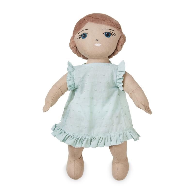 Bio Stoffpuppe 'Agnes' ca. 40cm ab 3 Jahren
