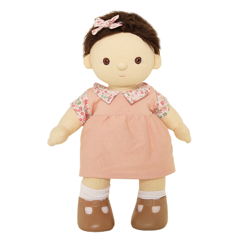 Puppenkleid 'Aya' rosa für Dinkum Dolls