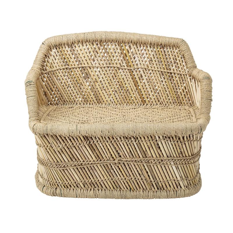 Kindersofa aus Bambus & Jute