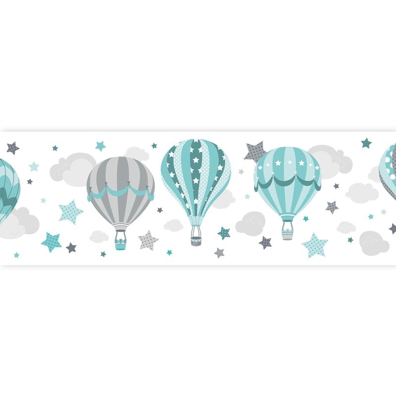 Bordüre Heißluftballons mint selbstklebend
