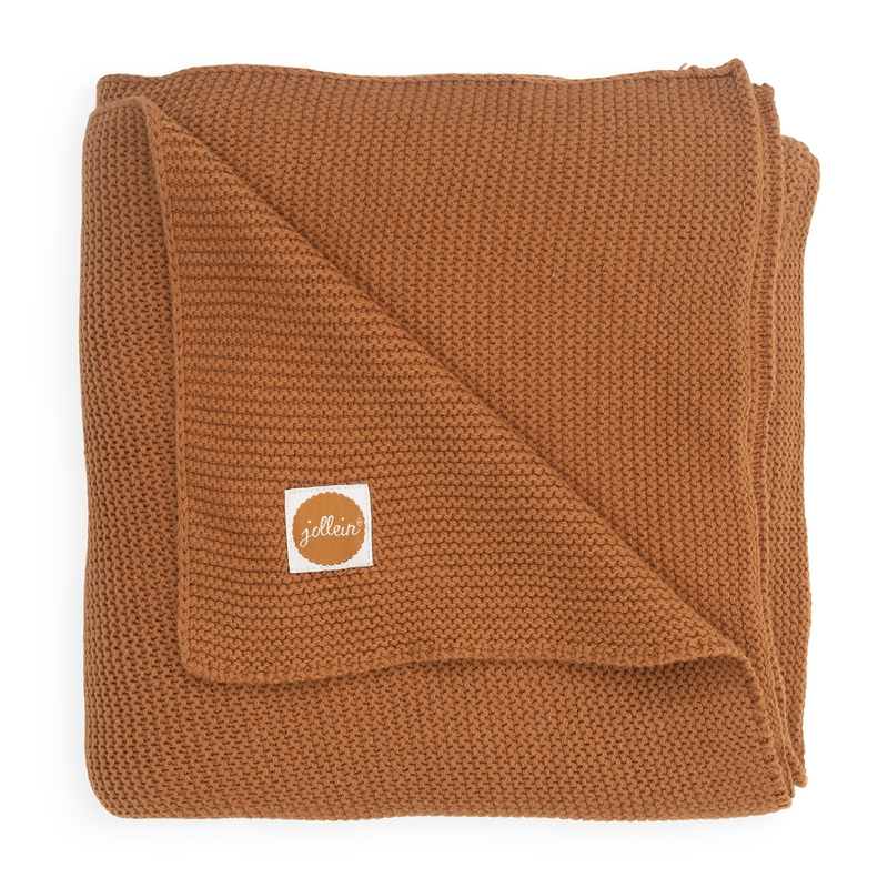 Strickdecke 'Basic Knit' rost