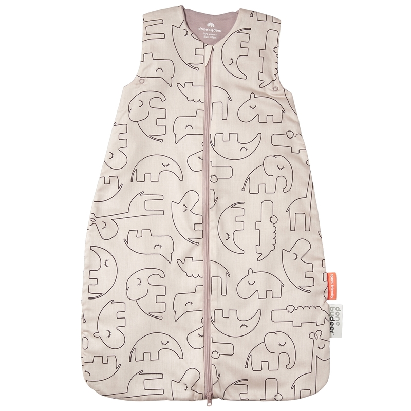 Sommerschlafsack 'Sleepy Friends' puderrosa 90cm