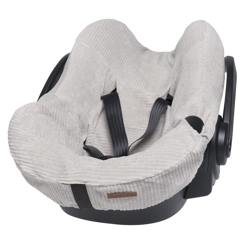 Sitzbezug 'Sense' grau für Babyschale